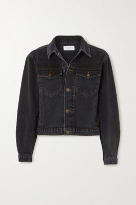 STILL HERE Denim Jacket - Black