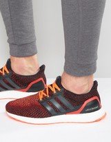 adidas Ultra Boost Sneakers In Red AQ5930