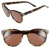 Ted Baker Women's 54Mm Retro Sunglasses - Brown Horn