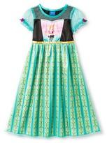 Disney Frozen Anna Toddler Girls' Nightgown - Green