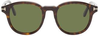Tom Ford Tortoiseshell Jameson Sunglasses