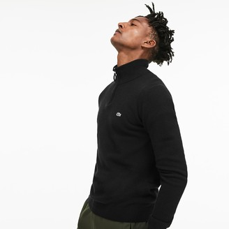 Lacoste Men's Standup-Collar Wool Sweater