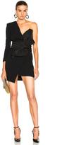 Alexandre Vauthier One Shoulder Dress