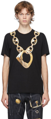 Moschino Black Macro Ring T-Shirt