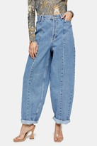 Topshop IDOL Oversized Ovoid Jeans