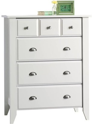 Child Craft Relaxed Traditional 4 Drawer Chest, White