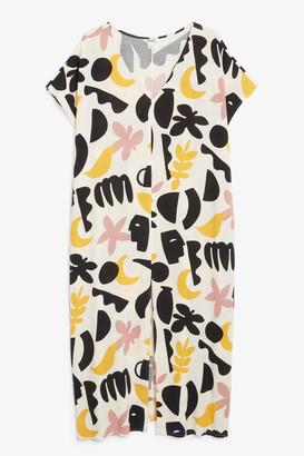 Monki Pullover maxi beach dress