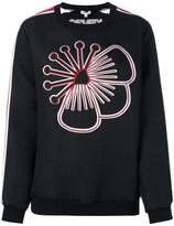 Kenzo embroidered flower sweatshirt