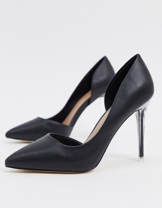 Call it SPRING thaoven pointed court shoes in black