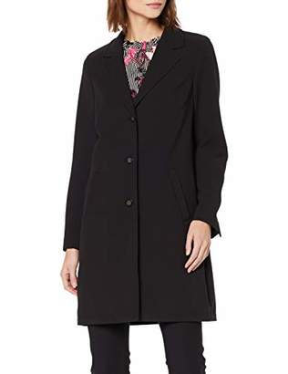 S'Oliver BLACK LABEL Women's 29.903.52.59 Coat, Black 9999, 8 (Size: )