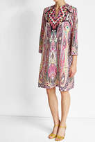 Etro Printed Silk Tunic