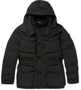 Polo Ralph Lauren Quilted Canvas Hooded Down Coat