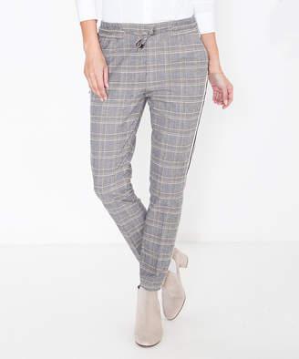 Att Jeans ATT Jeans Women's Denim Pants and Jeans Camel - Camel Check Hannah Crop Pants - Women