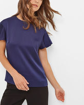 XYLO Frilled sleeve top