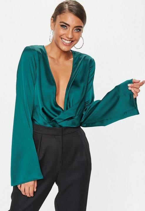 c7f96f760150 Missguided Bodysuit - ShopStyle