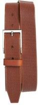 Allen Edmonds 'Shorewood Avenue' Houndstooth Leather Belt