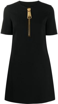 Moschino Zip Detail Dress