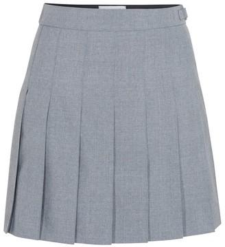 Thom Browne Pleated mini skirt