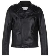 Sandro Crass Leather Biker Jacket