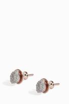 Monica Vinader Nura Diamond Teardrop Stud Earrings