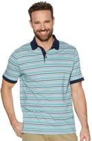 M&Co Fine stripe polo shirt