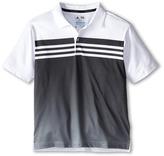 adidas Kids 3 Stripes Gradient Polo (Big Kids)