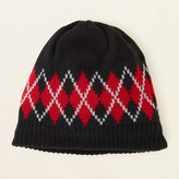 Children's Place Argyle knit hat