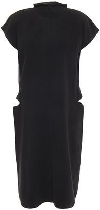 Rick Owens Cutout Cotton-blend Dress