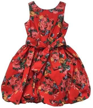Joe Ella Halo Floral Print Bubble Dress (Little Girls & Big Girls)