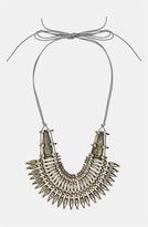 Topshop 'Warrior' Collar Necklace