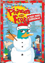 Disney Phineas and Ferb: A Very Perry Christmas DVD