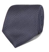 Canali 8cm Woven Silk Tie - Navy