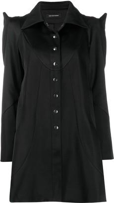 KIKO KOSTADINOV Pointed Shoulder Short Coat