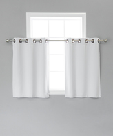 Best Home Fashion Vapor Blackout Valance - Set of Two