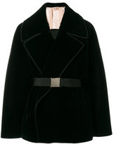 No.21 belted tailored jacket