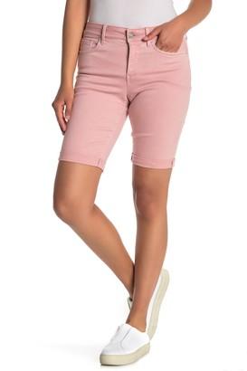 NYDJ Briella Roll Cuff Bermuda Shorts (Petite)