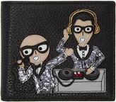 Dolce & Gabbana Black Designers DJ Wallet