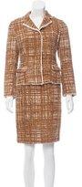 Prada Tweed Skirt Suit