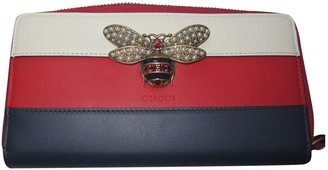 Gucci Queen Margaret Multicolour Leather Wallets