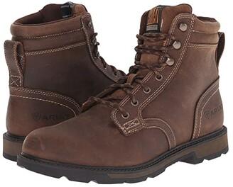 Ariat Groundbreaker 6 (Brown) Men's Work Boots
