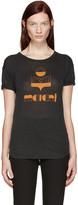 Etoile Isabel Marant Black Kolda Logo T-Shirt