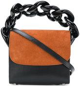 Marques Almeida Marques'almeida contrast flap chain handle bag