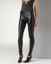 Members Only Women's Liquid Leather Leggings
