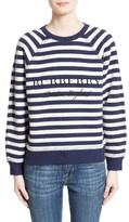 Burberry Women's Selune Stripe Wool & Cashmere Sweater
