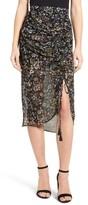 Rebecca Minkoff Women's Romy Floral Print Skirt