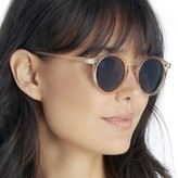 Sole Society Clinton Retro Chic Round Sunglasses