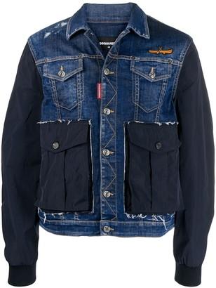 DSQUARED2 Deconstructed Denim Jacket