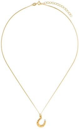 True Rocks Mini Horseshoe Pendant Necklace