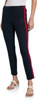 Rag & Bone Simone Side-Stripe Pants with Zip Pockets