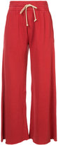 Mother flared track pants